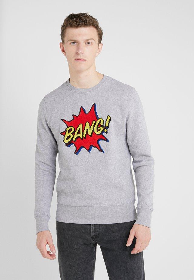 BIG BANG - Sweatshirts - heather grey