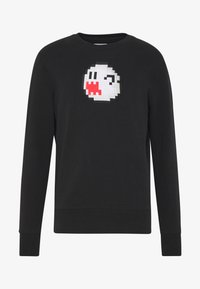 Bricktown - BOO GHOST BIG - Sweatshirt - black - 3