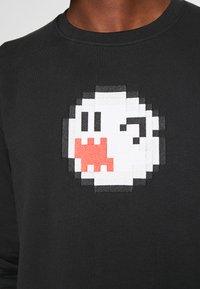 Bricktown - BOO GHOST BIG - Sweatshirt - black - 4