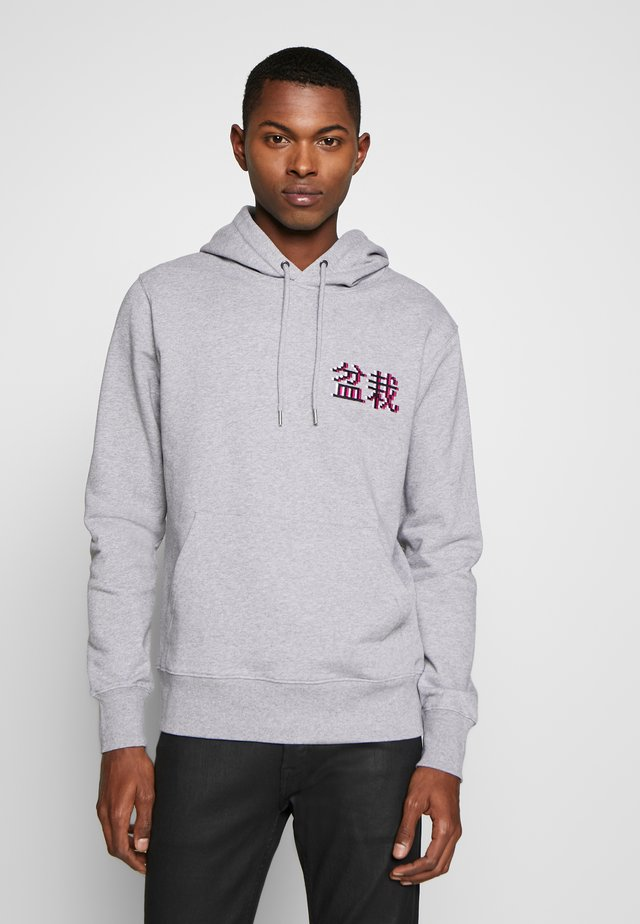 HOODIE BONSAI SIGN - Luvtröja - heather grey