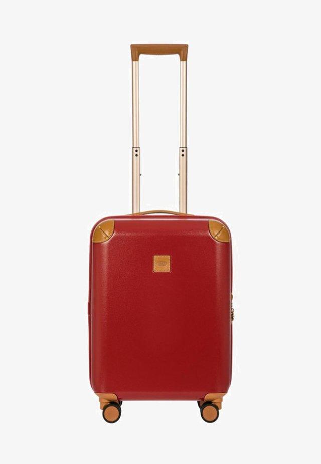 AMALFI - Wheeled suitcase - red