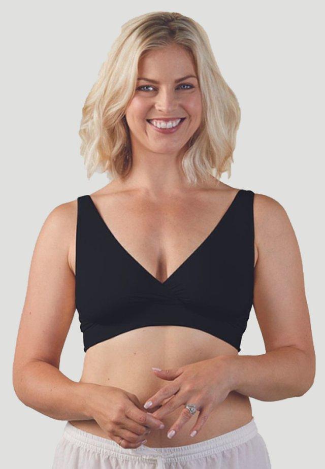 Kaarituettomat rintaliivit - black