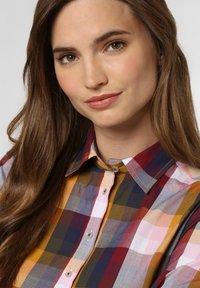brookshire - Button-down blouse - yellow/marine - 2