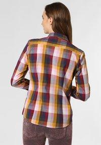 brookshire - Button-down blouse - yellow/marine - 1