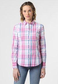 brookshire - Button-down blouse - light blue/pink - 0