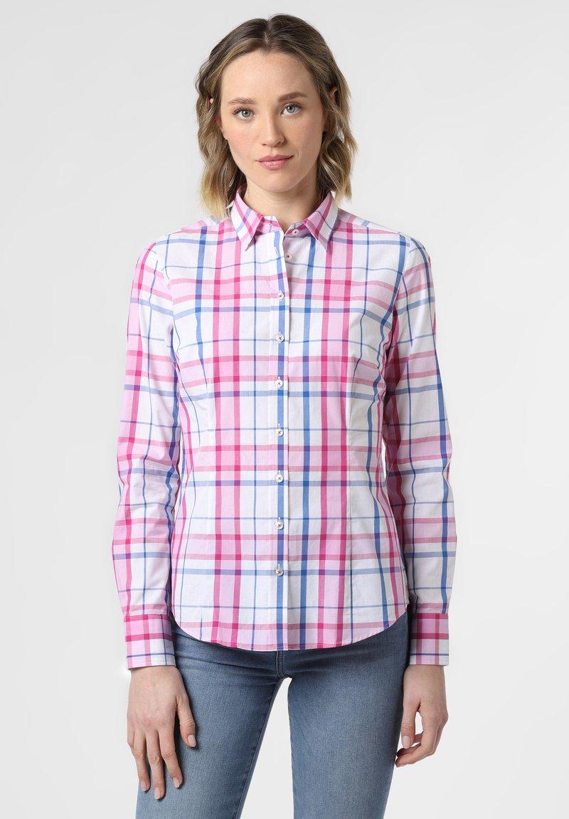 brookshire - Button-down blouse - light blue/pink