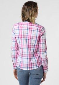 brookshire - Button-down blouse - light blue/pink - 1