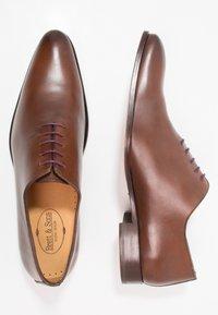 Brett & Sons - Zapatos con cordones - natur cognac - 1
