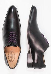 Brett & Sons - Stringate eleganti - insis noir - 1