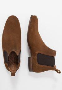 Brett & Sons - Kotníkové boty - cognac - 1