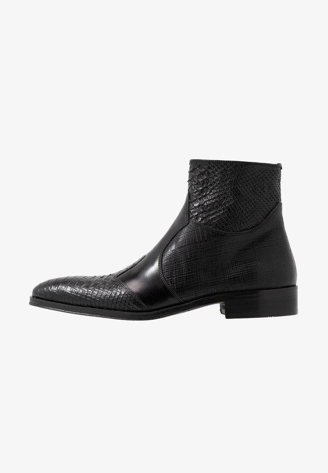 Kotníkové boty - noir/natur
