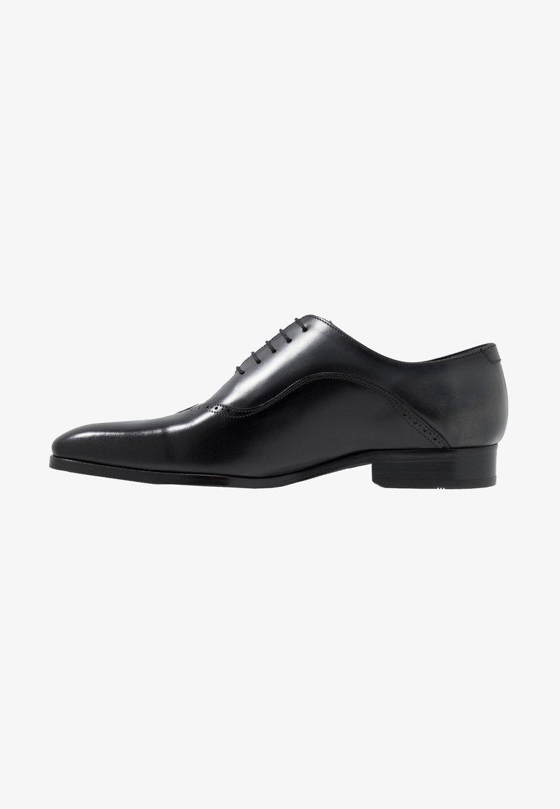 Brett & Sons - Zapatos con cordones - natur noir/asfalto