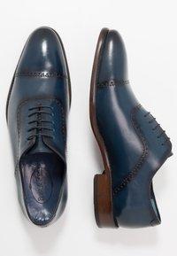 Brett & Sons - Derbies & Richelieus - blue - 1