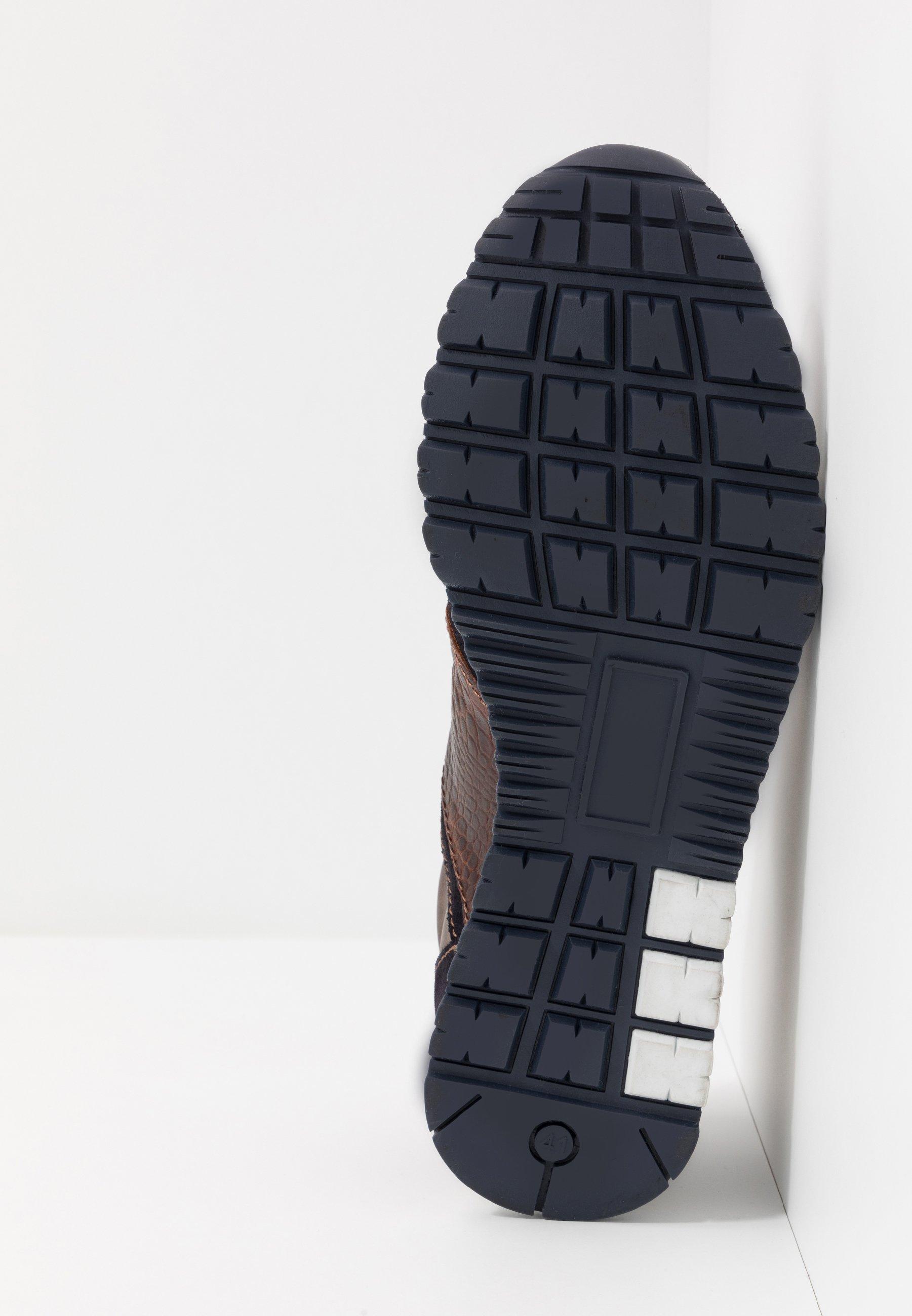 Brett & Sons Sneakers - Marine/grey/tunara/tabaco
