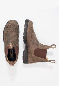 Blundstone - CLASSIC WINGCAP - Støvletter - rustic brown - 1