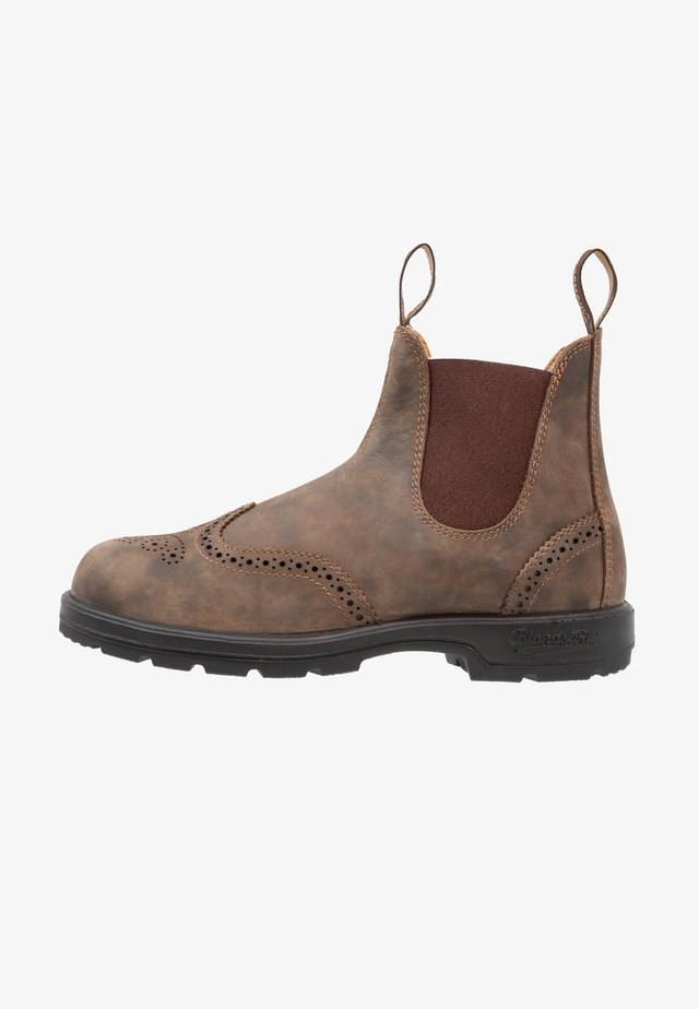 CLASSIC WINGCAP - Bottines - rustic brown