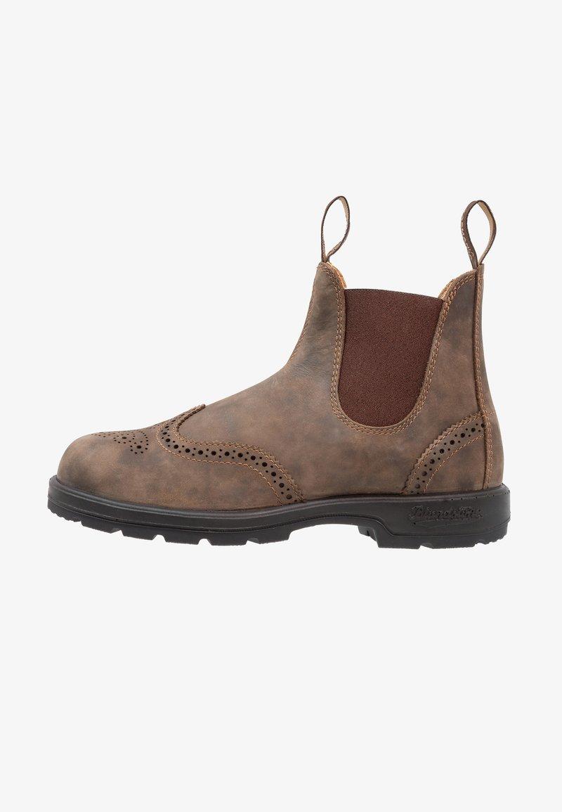 Blundstone - CLASSIC WINGCAP - Støvletter - rustic brown