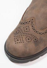 Blundstone - CLASSIC WINGCAP - Støvletter - rustic brown - 5