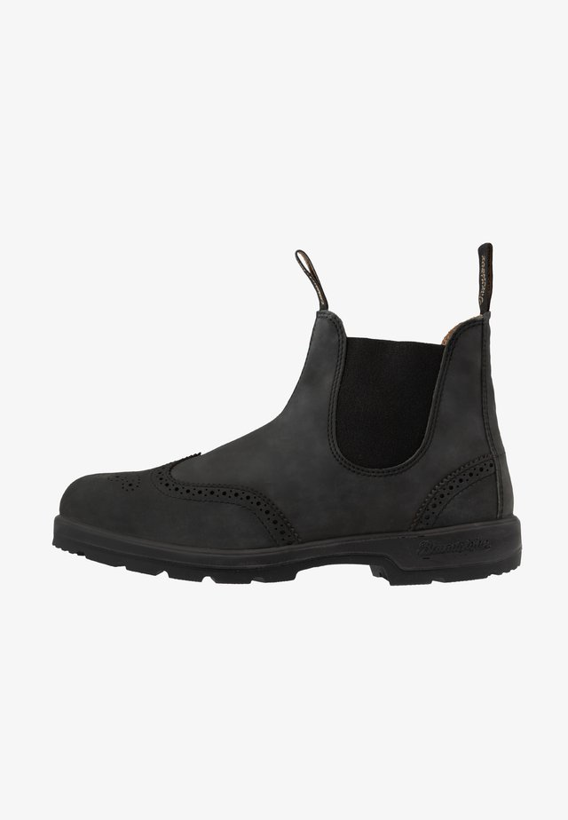 CLASSIC WINGCAP - Classic ankle boots - rustic black