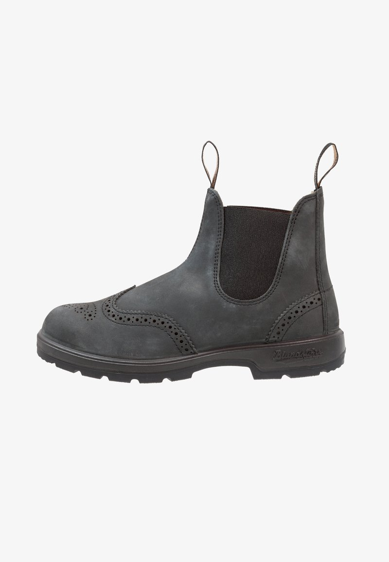Blundstone - CLASSIC WINGCAP - Classic ankle boots - rustic black