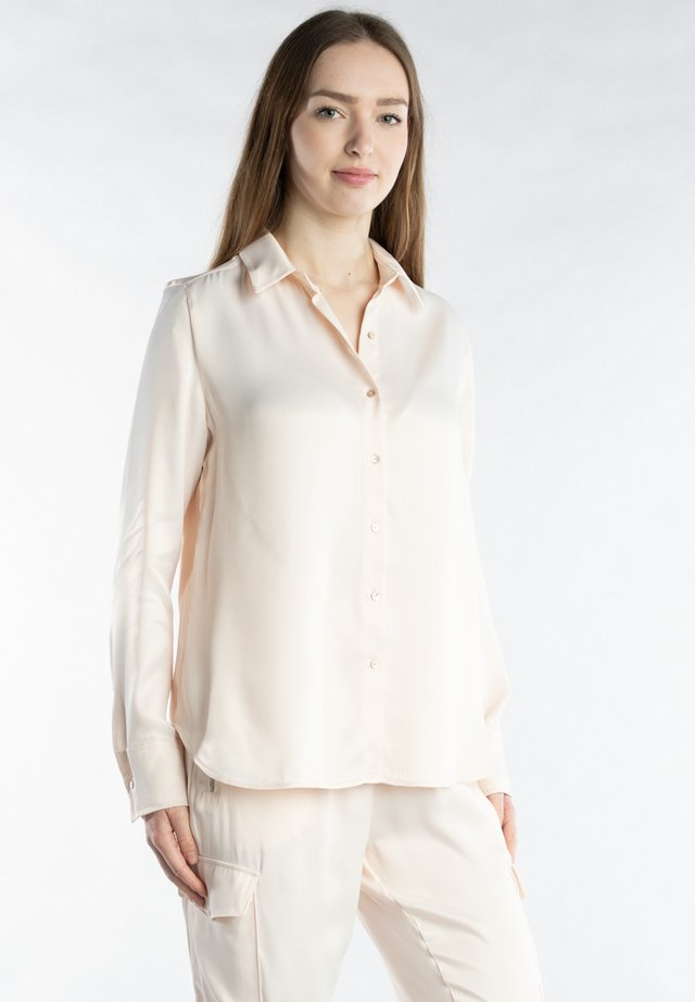 Button-down blouse - rose water