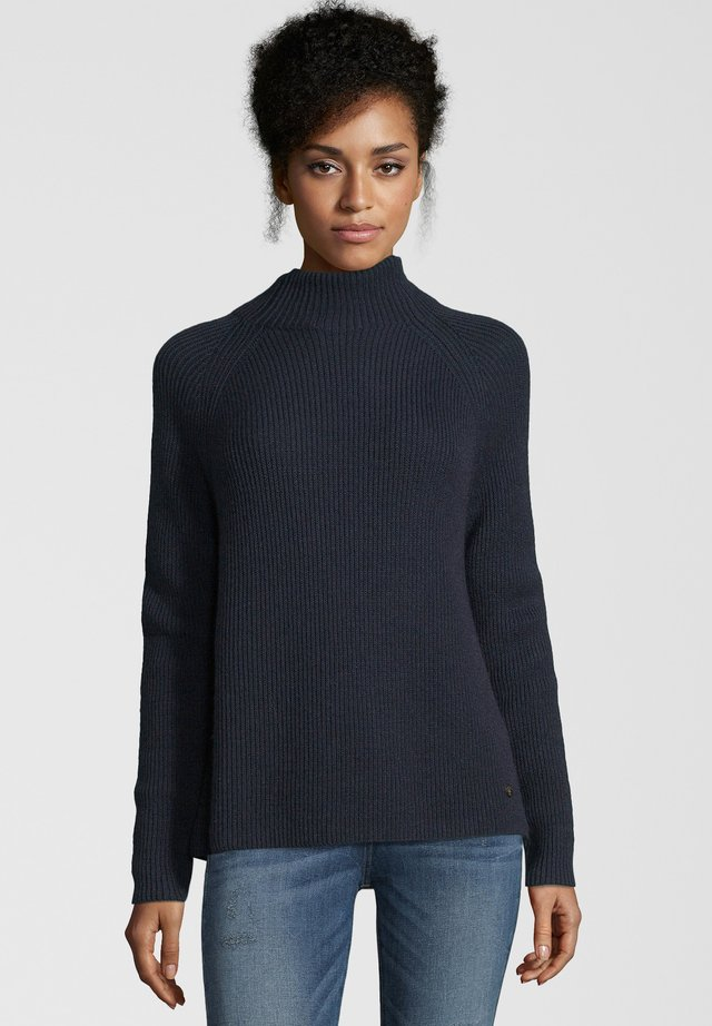 TURTLE  - Strickpullover - navy