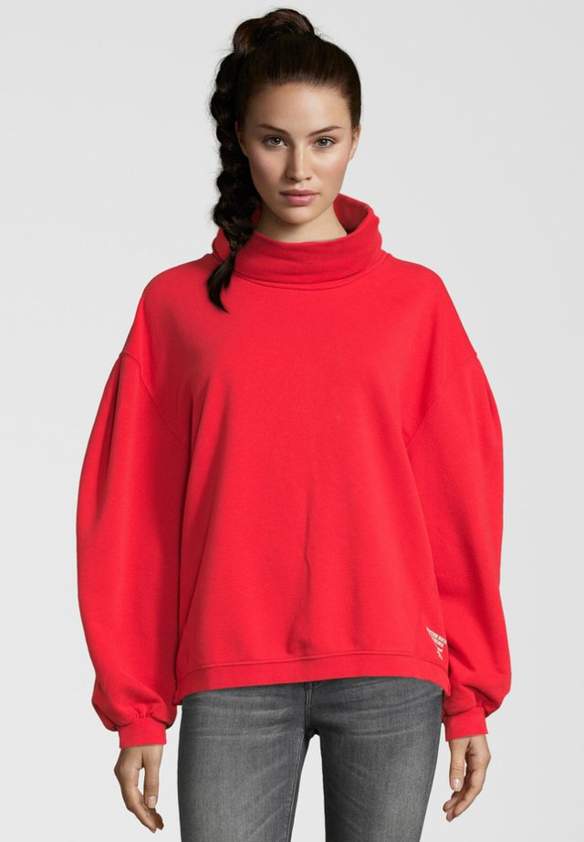REGULAR FIT - Sweatshirt - red