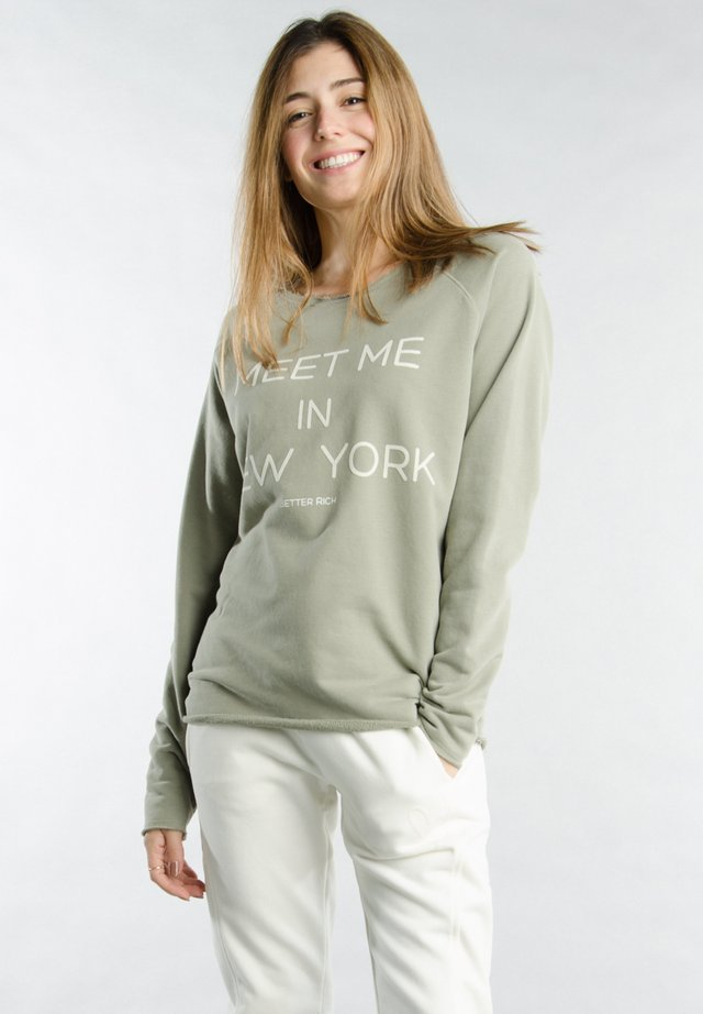 Sweatshirt - 6130 vetiver
