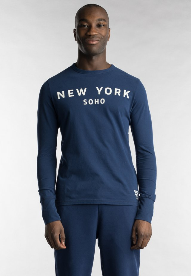 NY - Long sleeved top - navy