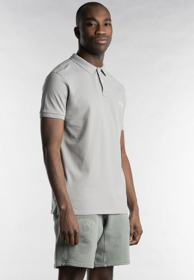 Polo shirt - weather grey