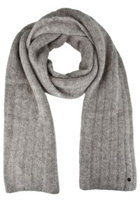 Better Rich - STRICKSCHAL RIB - Scarf - grey - 0