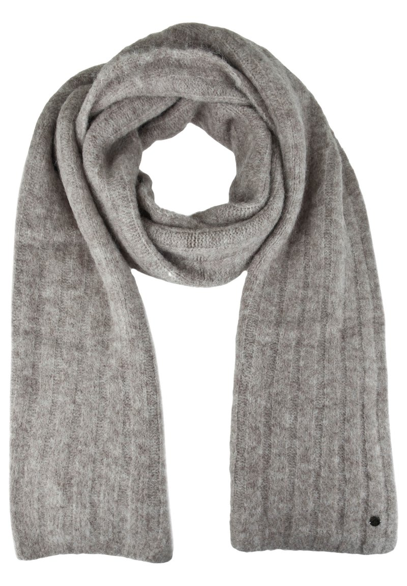 Better Rich - STRICKSCHAL RIB - Scarf - grey