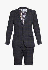 Ben Sherman Tailoring - OVERCHECK SUIT SLIM FIT - Suit - navy - 11