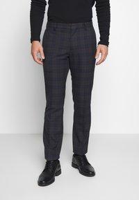 Ben Sherman Tailoring - OVERCHECK SUIT SLIM FIT - Suit - navy - 4