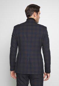 Ben Sherman Tailoring - OVERCHECK SUIT SLIM FIT - Suit - navy - 3