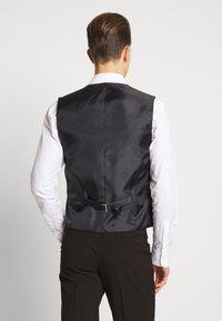 Ben Sherman Tailoring - OVERCHECK WAISTCOAT - Gilet elegante - navy - 2
