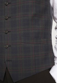 Ben Sherman Tailoring - OVERCHECK WAISTCOAT - Gilet elegante - navy - 5