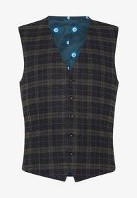 Ben Sherman Tailoring - BRUSHED WAISTCOAT - Väst - black - 3