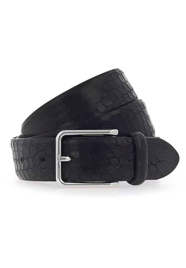 GÜRTEL LEDER - Belt - schwarz