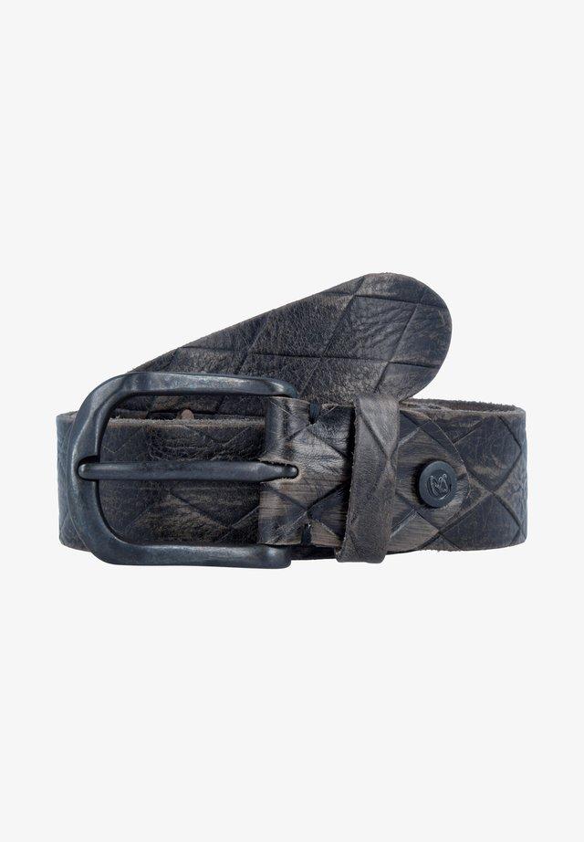 Belt - grey, blue