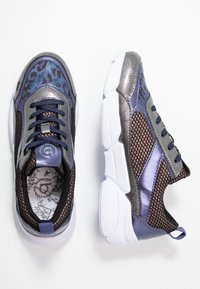 Bugatti - SHIGGY - Sneakers laag - dark grey/blue - 3