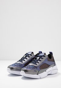 Bugatti - SHIGGY - Sneakers laag - dark grey/blue - 4