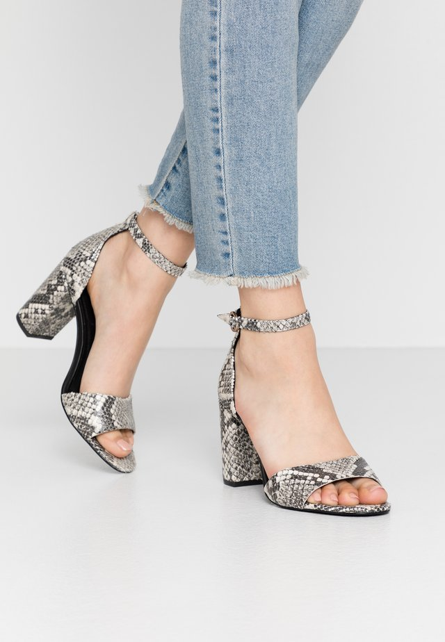 SILVANA  - High heeled sandals - grey