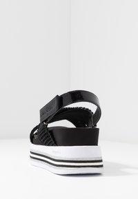 Bugatti - JIL - Platform sandals - black - 5
