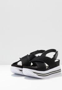 Bugatti - JIL - Platform sandals - black - 4