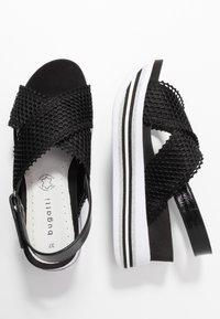 Bugatti - JIL - Platform sandals - black - 3