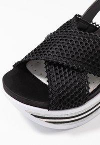 Bugatti - JIL - Platform sandals - black - 2