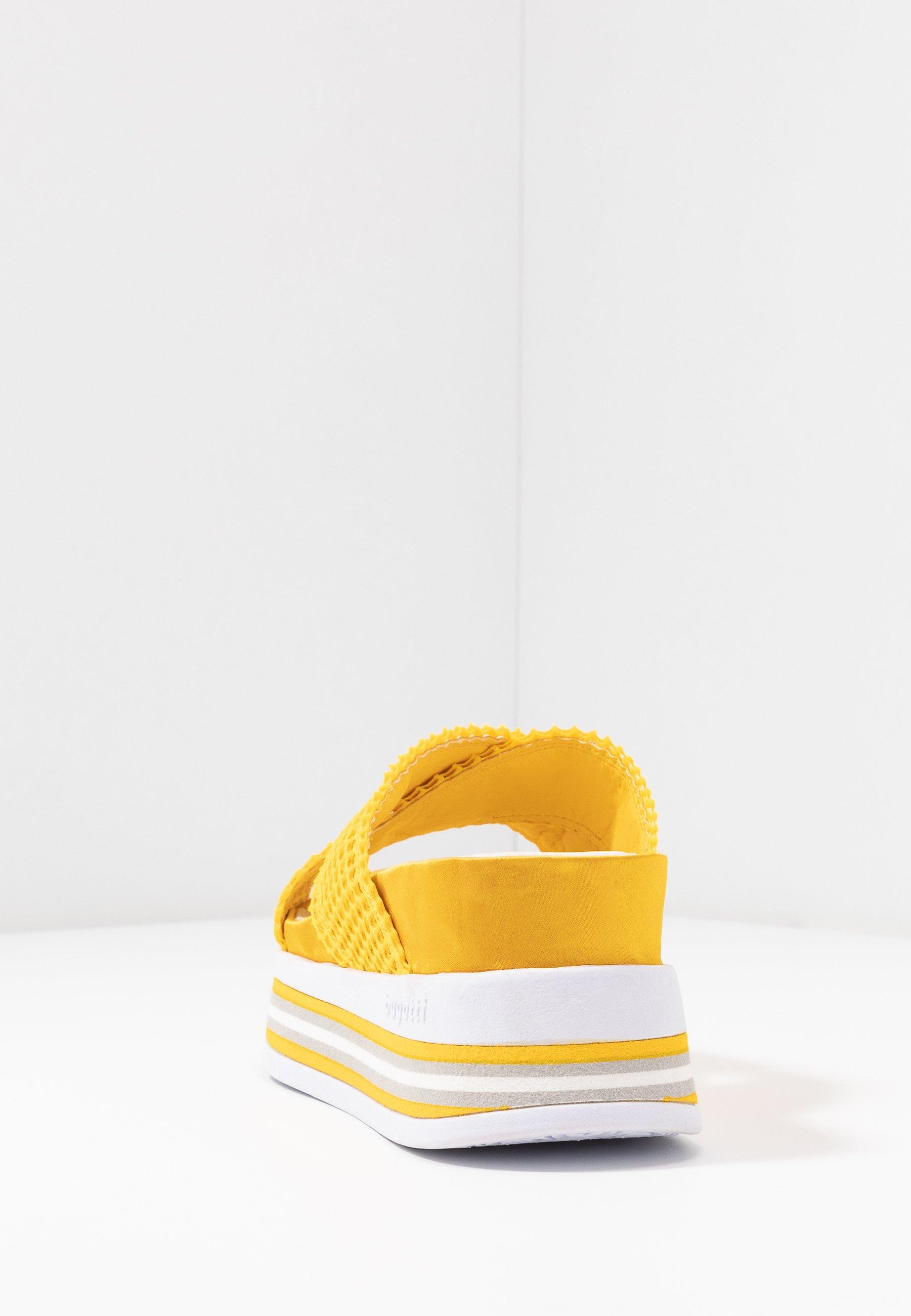 Bugatti Jil - Pantolette Hoch Yellow