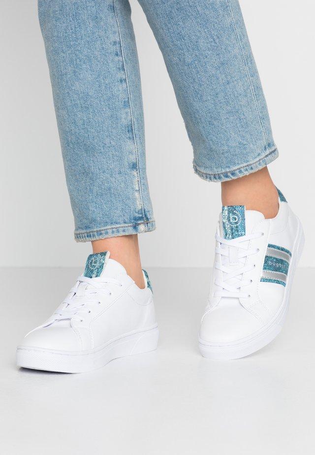 ELEA - Sneakersy niskie - white/light blue