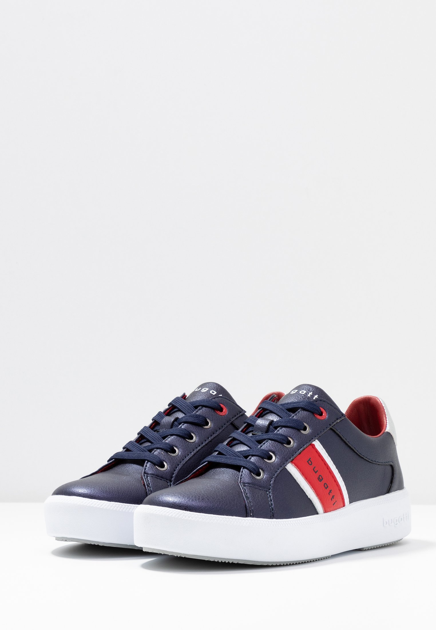 Bugatti KELLI - Sneakers - dark blue/red